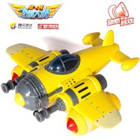 2-4 Years airplane game - The National World War II aircraft model alloy warrior acousto optic fighter model cartoon toy airplane game model