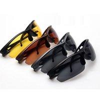 Wholesale Outdoor Sports Skiing Runing Fishing Goggles Night Vision Driving Eyeglass Eyewear UV Sunglass Anti reflective and anti glare