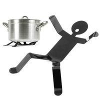 Wholesale Little Boy Style Steel Heat Insulation Pot Holder Pad Black