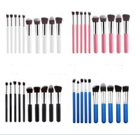 beginner professional - 10 makeup brush ten professional makeup brush set for beginners beauty tool SGM full set of the same paragraph Free Delivery