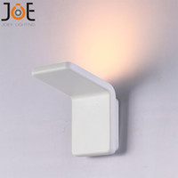 Wholesale Modern LED wall lamp W COB home decoration wall light for living room aluminum wall sconce Super bright lighting fixture