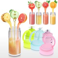 Wholesale 400ml Handy Portable Chargeable Electric Juice Cup Multifunctional Juice Glass Mini Juice Maker DHL H16995