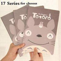 Wholesale mm ZAKKA K style Totoro Friends Mixed World Series NoteBook A5 Diary Kids gift stationery office school supplies