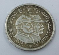 battle of gettysburg - 1936 Battle of Gettysburg Anniversary Commemorative Half Dollars Copy Coins