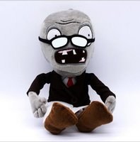 baby reading games - Read Newspaper Zombie PVZ Plush Toy Doll Stuffed Animals Baby Toy Children Gifts Wedding Gifts Toys