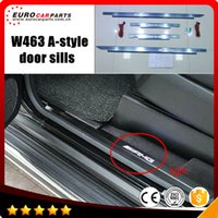 Wholesale W463 door sill with leds fit for G CLASS W463 style with leds G63 welcome pedal G63 door sill