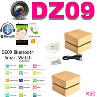 Wholesale Smart Watch DZ09 With inch Support Bluetooth SIM Slot Phone Call Write Watch Pedometer Camera for iPhone Plus S Samsung S6 SB DZ09