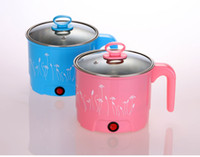 Wholesale Mini electric steamer cooker small Hot pot small power electric boiling pot noodle cup bedroom multi purpose pot pot