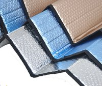 Wholesale Update quot x28 quot Thicken Foam Aluminum Foil UV Protection Auto Car Window Windshield Sun Shade Sunshade