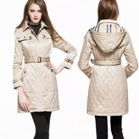 best trench - Brand New Women Long White Duck Down Coats Lady Top Fashion Long Trench Coats British London Style Best sales Luxury Lady Clothing BC1208