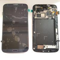 Pour Samsung Galaxy Mega 6.3 i9200 i9205 écran i527 LCD Moniteur écran tactile numériseur avec pièces de réparation de cadre