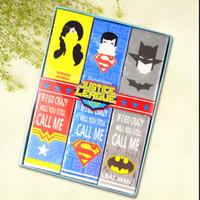 batman napkins - Marvel Avengers Superman Batman Napkin Paper Serviettes Printed Napkins Pocket Tissue Party Wedding Party napkins for decoupage