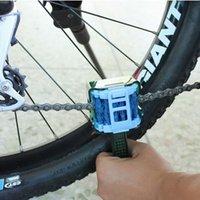 Wholesale Multifunctional wash chain brush bicycle chain cleaning tool flywheel brush wash chain device