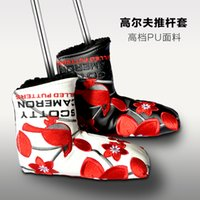 Wholesale NEW Top Quality T MAHAL HAWAII Golf Putter Cover Red quot or quot White Color Golf Cover