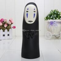 face bank money box - Miyazaki Hayao Spirited Away No Face coin bank PVC Action Figure Toy piggy bank money box