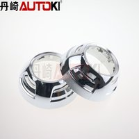 Wholesale Autoki Universal inches circular hid projector lens shroud headlight