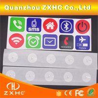 alarm labels - Ntag213 NFC Stickers Label Tags For Alarm Mute Setting All NFC Phones Compatible