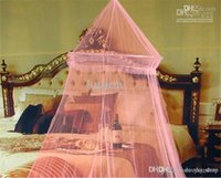 Wholesale Summer Hot Selling Good Sleeping Graceful Elegant Bed Curtain Netting Canopy Mosquito Net