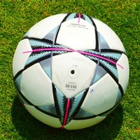 Wholesale Newest Champion League Final Size Seamless PU Soccer Ball Top Quality Premier League Football With Gas needle