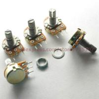 actuating motor - 10pcs Single Potentiometer mono k B500K mm actuator length WH148 actuator linear actuating motor