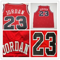 Wholesale Chicago Michael Number Basketball Jerseys Men s Stitched and Embroidery New Arrival Basketball Jersey High Quality Color Red