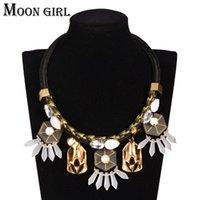 Wholesale Maxi pendant tassel choker necklace classic New Bohemia fashion boho jewelry display statement necklace women accessories