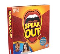 Wholesale 2016 HOT Speak Out Games Ridiculous Mouthpiece Challenge Game game for your mouthpiece with paper cards