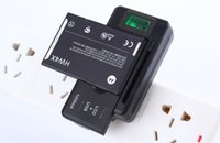 battery indicator iphone - US EU AU UK Plug Quick Charger Universal Intelligent LCD Indicator battery Charger For samsung GALAXY S4 I9500 S3 I9300 NOTE S5 HuaWei P8