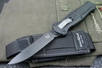 Wholesale recommend Benchmade Butterfly single front S30V blade Hunting Folding Pocket Knife Survival Knife Xmas gift freeshipping