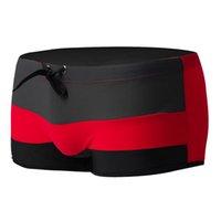 best swim wear - Best Selling Brand Hot Men Sexy Beach Pant Shorts Stripe Matching Boxer Swimming Swimwear Surf Wear Casual swimming trunks