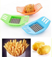 Wholesale New Hot Fashion French Fry Potato Chip Cut Cutter Chopper Chipper Blade Vegetable Home Fruit Slicer