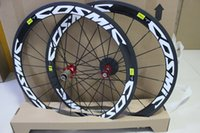 Wholesale A pair road bike wheels carbon wheels mm clincher carbon wheelset bicycle wheel With Novatec