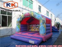 beautiful backyards - beautiful kids inflatable bouncers for sale princess theme hot bouncy castle