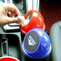 Wholesale Fashion Car trash can garbage Attractive Can Garbage Dust Case Holder bin organizer auto accessories car styling