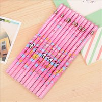 Wholesale 12 Boxed Triangle Round Lead HB Pencil Student Test Pen Pen Stationery Business pen Sketch Painting Art School Supplies