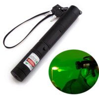 Wholesale 2016 Professional nm Laser Pointer Green Puntero Laser High Powered Focus Burning Laser With Safe Keys Doulble Charger