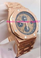 Wholesale Luxury Wristwatch Offshore Chronograph Rose Gold OR OO1000OR NEW Quartz Mens Watches Men s Watch Top Quality