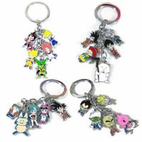 Wholesale Dragonball alloy pendant key chain accessories accessories The messiah who sun wukong cloth the flute