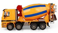 abs mixer - Design Concrete Mixer Car Model ABS Plastic Transport Vehicle Model Toy As gift for Boy Children