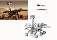 Wholesale Rovers Model D Puzzle Metal For Adult Earth Laser Cut Model D Jigsaws DIY Gift Star Wars Munitions Metal Model Puzzle