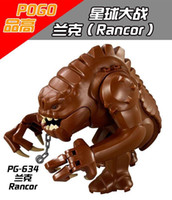 best baby blocks - PG634 Star Wars Legacy Collection Jabba Rancor Building Block Bricks Action DIY Collection Best Baby Gift Toys