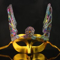 act mask - performance evening party crown mask make up ball Saint Valentine s Day prop Acting mask