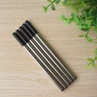 Wholesale 100Pcs Roller pen metal refill Import ink writing fluency good refill for replacement