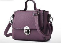 bamboo composite - 8 colors women leather tote handbag fashion Brand designer candy color casual shoulder bag for women