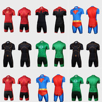 Wholesale 2016 New Arrival Super Hero Summer Breathable Ropa Ciclismo Bike Sports Clothing Cycle Bicycle Clothes Cycling Jerseys