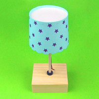assembly plastic materials - DIY science and technology small production of science and technology small invention manual small desk lamp puzzle assembly model material