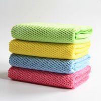 El paño nano al por mayor del cepillo del paño de la limpieza del piso de la cocina del coche de la toalla del microfiber libera el envío
