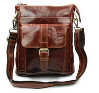 Wholesale 2016 shoulder bags men bag genuine leather messenger bag high quality man famous brand business bag