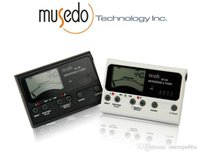 Wholesale 50pc High quality Musedo MT Bass Guitar Tuner Electronic Digital in LCD Metronome guitar accessories Z00495
