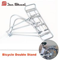 adjustable aluminum shelving - inch Silver Cycling Bicycle Bike Aluminum Alloy Rear Rack kg Capacity Adjustable Rear Shelves
